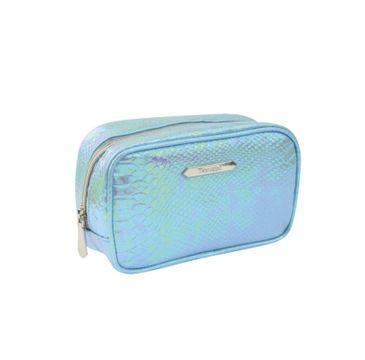 Donegal – Kosmetyczka damska Blue Crocco mała 4990 (1 szt.)