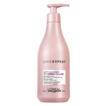 L'Oreal Professionnel – Serie Expert Vitamino Color Soft Cleanser Shampoo delikatny szampon do włosów koloryzowanych (500 ml)