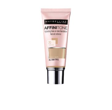 Maybelline Affinitone - podkład golden rose nr 20 (30 ml)