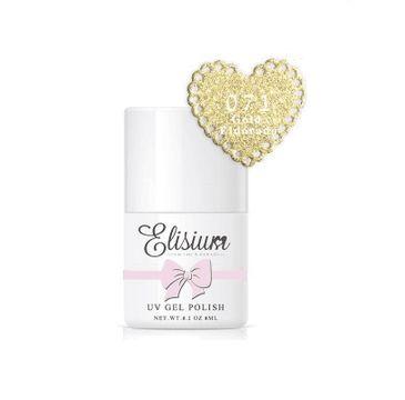 Elisium – lakier hybrydowy do paznokci UV Gel Polish 071 Eldorado Gold (8 ml)