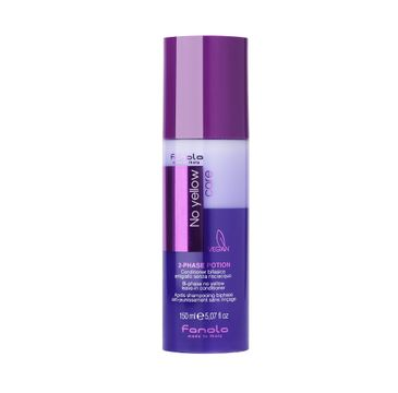Fanola – Dwufazowa odżywka do włosów w sprayu No Yellow Care 2-Phase Potion (150 ml)