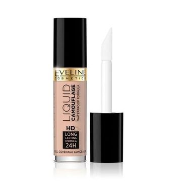 Eveline – Cosmetics Liquid Camouflage Full Coverage Concealer korektor kryjący do twarzy 01A (5 ml)