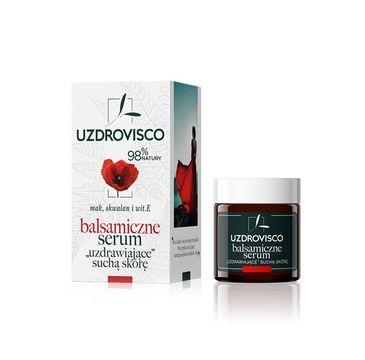 UZDROVISCO – Balsamiczne serum do twarzy ''uzdrawiające suchą skórę'' Mak (25 ml)