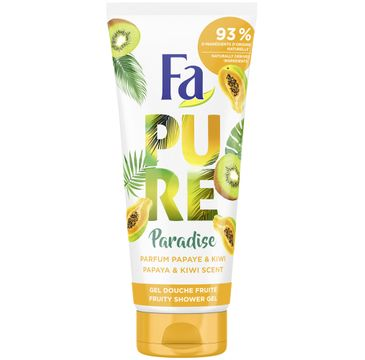 Fa – Pure Paradise Shower Gel żel pod prysznic Papaya & Kiwi (200 ml)