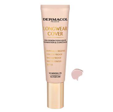 Dermacol –  Longwear Cover Make-Up podkład i korektor do twarzy 02 Fair (30 ml)