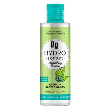 AA Hydro Sorbet Korean Formula Hydrating Essence – esencja aloesowa 96% (100 ml)
