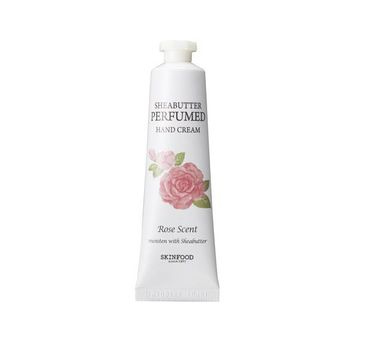 Skinfood – Shea Butter Perfumed Hand Cream Rose krem do rąk o zapachu róży (30 ml)