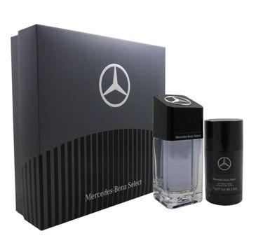Mercedes-Benz Select (zestaw woda toaletowa 100 ml + dezodorant sztyft 75 ml)