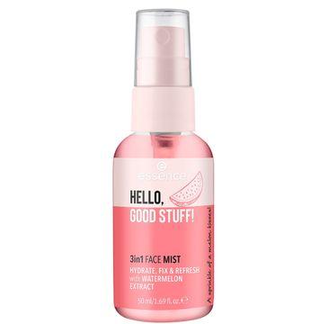 Essence – Hello Good Stuff! 3in1 Face Mist nawilżająca mgiełka do twarzy (50 ml)