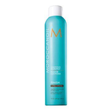 Moroccanoil Finish Luminous Hairspray (lakier do włosów z efektem nabłyszczenia Extra Strong 330 ml)