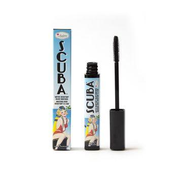 The Balm – Wodoodporny wydłużająco-pogrubiający tusz do rzęs Scuba Water Resistance Mascara - Black (9.8 ml)