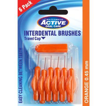 Active Oral Care – Interdental Brushes czyściki do przestrzeni międzyzębowych 0.45mm (6 szt.)
