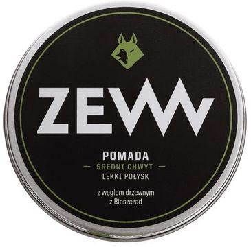 Zew For Men Pomada do włosów z węglem drzewnym z Bieszczad 100ml