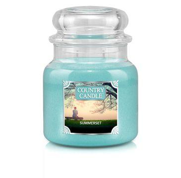 Country Candle – świeca zapachowa z dwoma knotami Summerset (453 g)