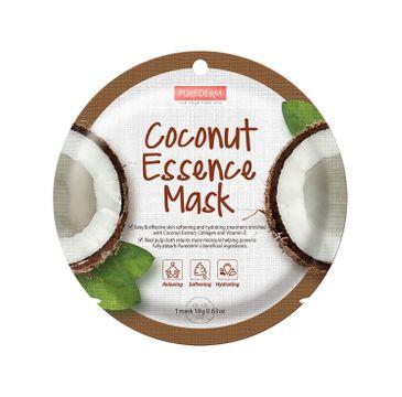 Purederm –  Maseczka w płachcie Kokos (18 g)