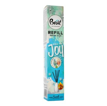 Brait Home Sweet Home Patyczki odświeżające Full of Joy - Hyacinth zapas 75 ml