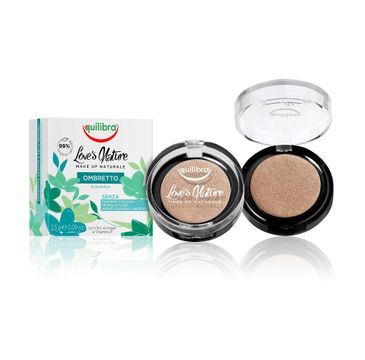 Equilibra Love's Nature Eyeshadow cień do powiek 06 Golden Bronze 2.5g