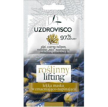 UZDROVISCO – Maska do twarzy wzmacniająco - napinająca Roślinny Lifting (10 ml)