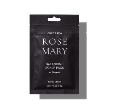 Rated Green – Rosemary kuracja regulująca do skóry głowy z rozmarynem i aktywnym węglem (50 ml)