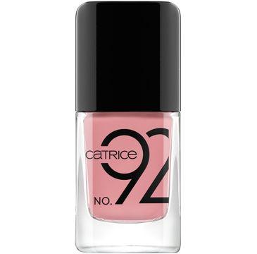 Catrice – ICOnails Gel żelowy lakier do paznokci 92 Nude Not Prude (10.5 ml)
