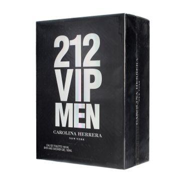 Carolina Herrera 212 VIP Men – zestaw woda toaletowa spray 100 ml + żel pod prysznic 100 ml (1 szt.P)
