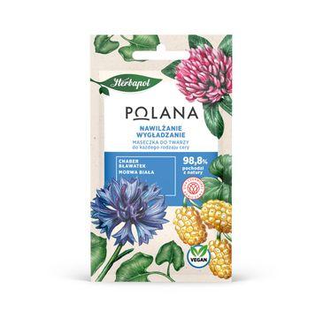 Polana – Maseczka do twarzy Nawilżanie i Wygładzanie - każdy rodzaj cery (8 g)