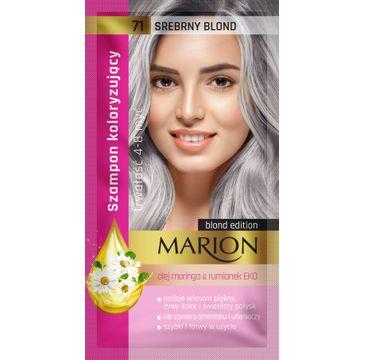 Marion – szampon koloryzujący nr 71 Srebrny blond (1 szt.)