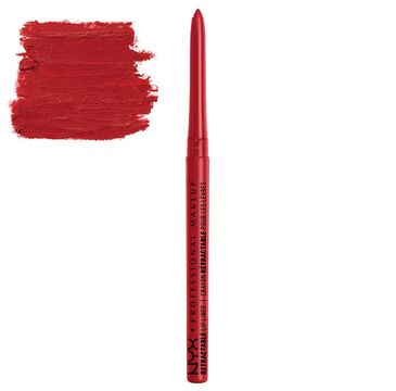 NYX Professional MakeUp Retractable Lip Liner wysuwana kredka do ust MPL11 Red 0.35g