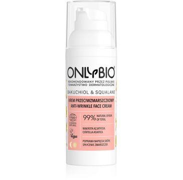 OnlyBio – Bakuchiol & Squalane krem przeciwzmarszczkowy do twarzy (50 ml)