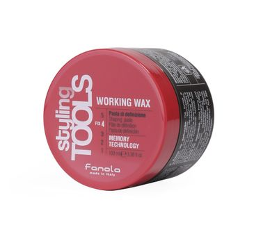 Fanola Styling Tools Working Wax – woskowa pasta do stylizacji włosów (100 ml)