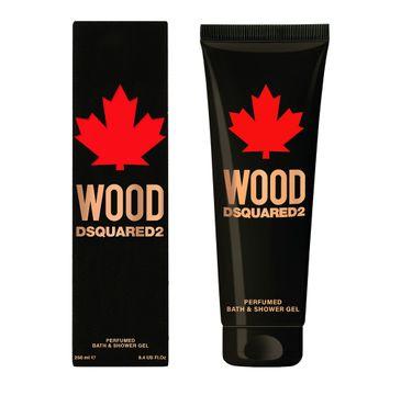 Dsquared2 – Żel pod prysznic Wood Pour Homme (250 ml)