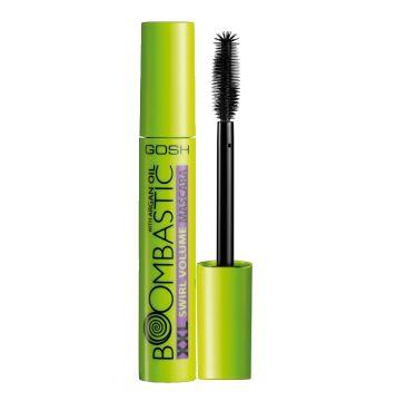 Gosh – Boombastick XXL Swirl Volume Mascara pogrubiająco-podkręcający tusz do rzęs 001 Black (13 ml)