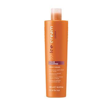 Inebrya Ice Cream Color Shampoo – szampon do włosów farbowanych (300 ml)