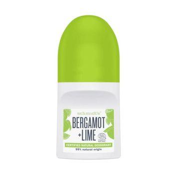 Schmidt's Natural Deodorant Roll-on naturalny dezodorant w kulce Bergamotka & Limonka 50ml