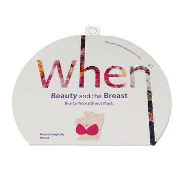 When – Ujędrniająca maska na biust Beauty And The Breast (1 szt.)
