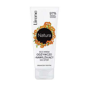 Lirene Natura Eco – krem odżywczo-nawilżający do stóp Organiczny Rokitnik (50 ml)