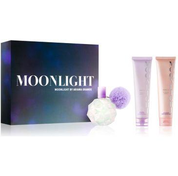 Ariana Grande – Moonlight zestaw woda perfumowana spray 100ml + balsam do ciała 100ml + żel pod prysznic 100ml (1 szt.)