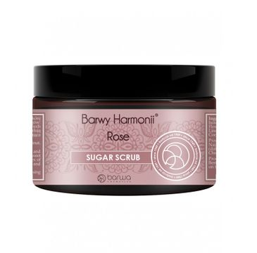 Barwa Barwy Harmonii Sugar Scrub – peeling cukrowy do ciała Rose (250 ml)
