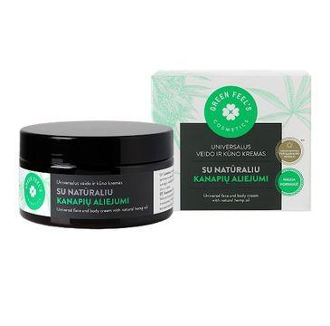 Green Feel's – Universal Face And Body Cream uniwersalny krem do twarzy i ciała z olejem konopnym (200 ml)
