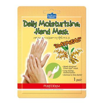 Purederm Daily Moisturizing Hand Mask – maska na dłonie Owsianka (1 szt.)
