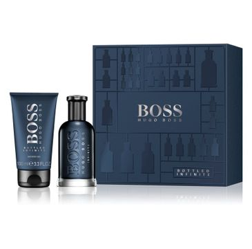 Hugo Boss Bottled Infinite zestaw woda perfumowana spray 100ml + żel pod prysznic 100ml