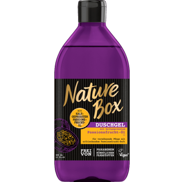 Nature Box – Shower Gel żel pod prysznic Marakuja Oil (385 ml)