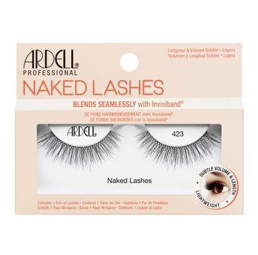 Ardell – Naked Lashes para sztucznych rzęs 423 Black (1 para)
