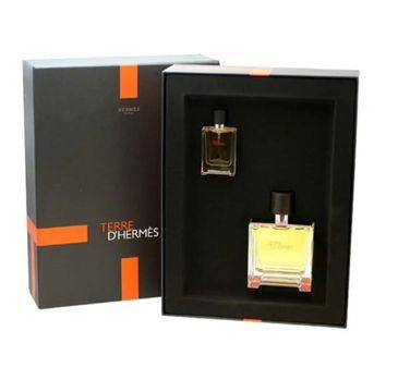 Terre D'Hermes – zestaw woda perfumowana spray (75 ml) + miniatura wody perfumowanej (12.5 ml)