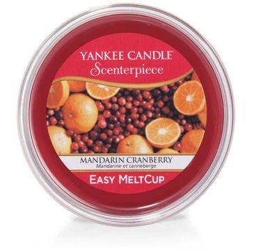 Yankee Candle – Scenterpiece Easy Melt Cup wosk do elektrycznego kominka Mandarin Cranberry (61 g0