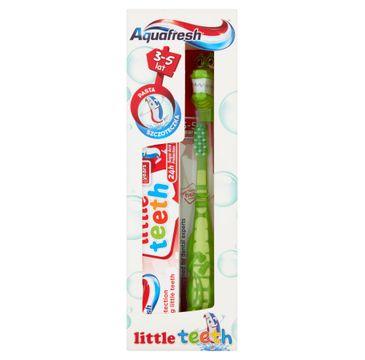 Aquafresh – Little Teeth zestaw pasta do zębów + szczoteczka do zębów 3-5 lat (50 ml)