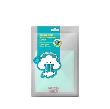 Patch Holic – Turkusowa nawilżająca maska w płachcie Colorpick Moisturizing Mask (20 ml)