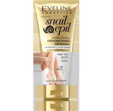 Eveline Snail Epil kremowa pianka do golenia filtrowany śluz ślimaka