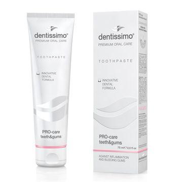 Dentissimo Toothpaste Pro-Care Teeth&Gums – pasta do zębów pro-ochrona zębów i dziąseł (75 ml)