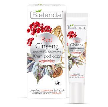 Bielenda Red Ginseng - przeciwzmarszczkowy krem pod oczy wygładzający (15 ml)